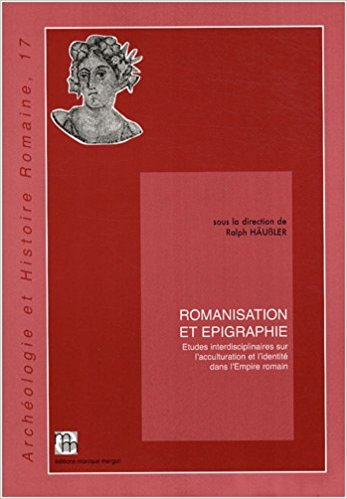 Romanisation and et epigrahie epigraphy Epigraphik