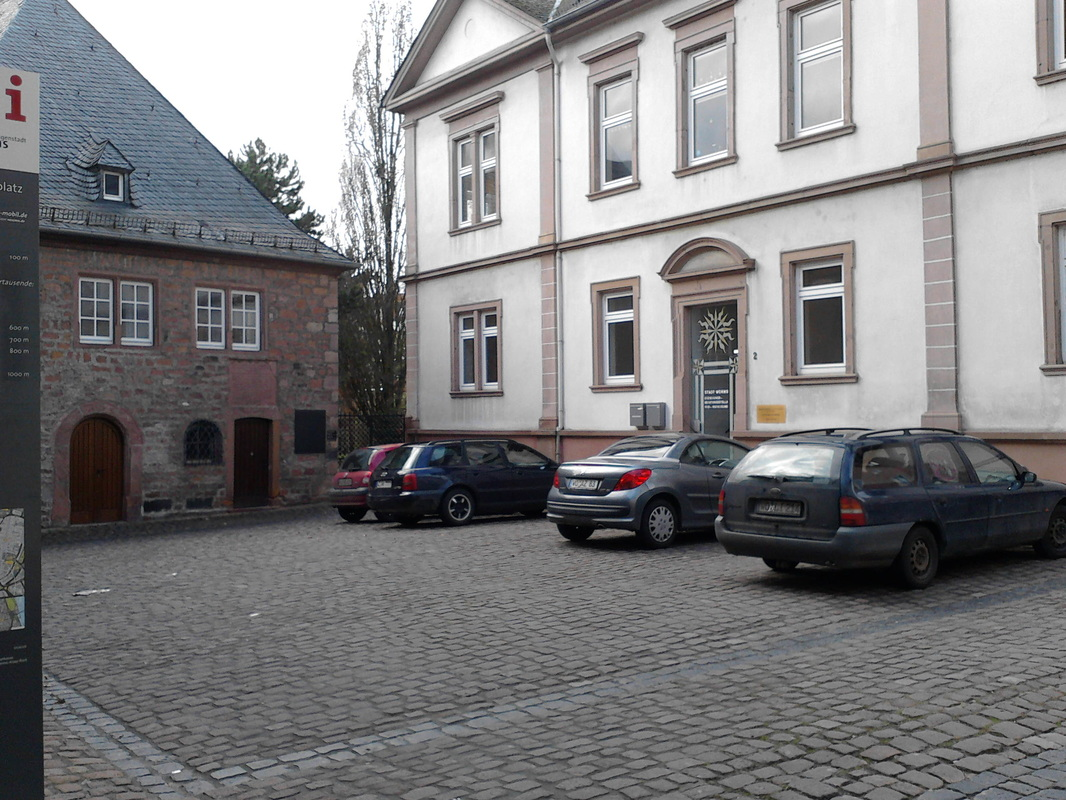 Worms Dom Stadtverschandelung Falschparker